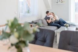 Fotoshooting Homestory mit Baby