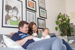 Homestory Graz - natürliche Familienfotos
