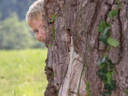 natürliche Kinderfotografie in der Natur