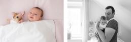 Babyfotoshooting Zuhause als Homestory