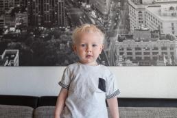 Kinderportrait bei Fotoshooting Zuhause