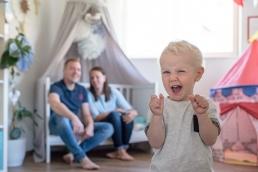 Graz Familienfotos - Eltern mit Kind