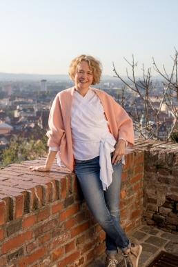 Portrait Fotografie am Schlossberg in Graz
