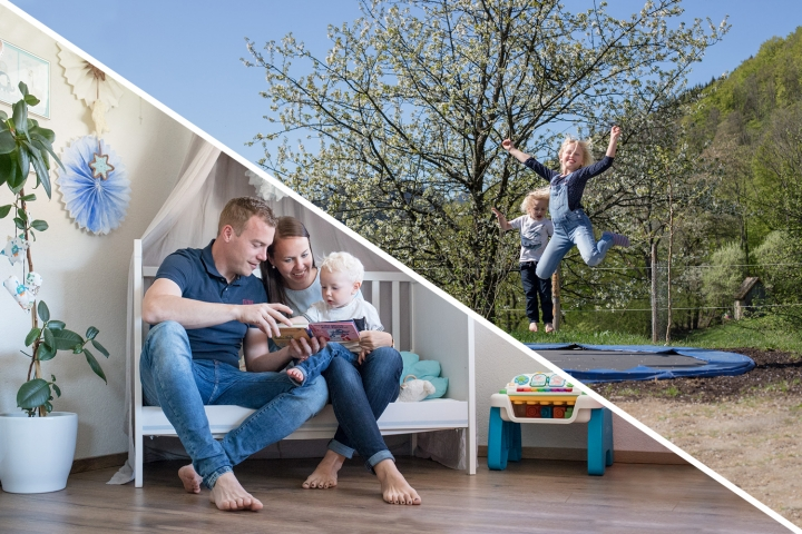 Homestory vs. Outdoorshooting - Familienshooting drinnen oder draussen