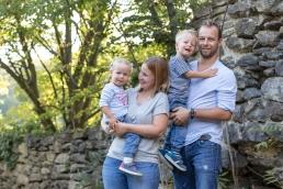 Familienfoto mit Selbstauslöser