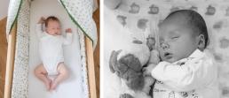 schlafendes Baby - die wichtigsten Meilensteine im ersten Lebensjahr