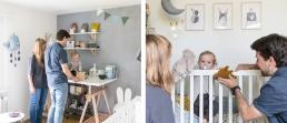 Baby's erstes eigenes Zimmer - ein wichtiger Meilenstein im ersten Lebensjahr