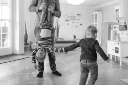 Familien Homestory - Fotoshooting Zuhause