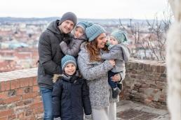 familienfoto am schlossberg in graz