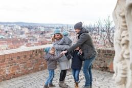 familienbilder am schlossberg in graz