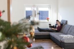 Pärchenfotos im eigenen Zuhause als Homestory