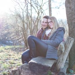 Paarshooting im Winter in der Steiermark