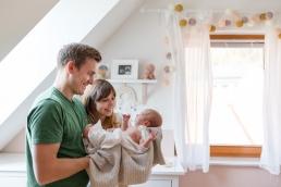 natürliche Babyfotos Daheim
