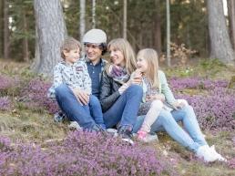 familienshooting im blütenmeer